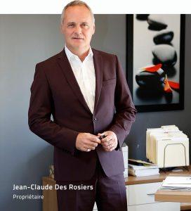 Jean-Claude Des Rosiers Évolutel